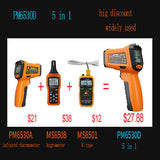 Digital Laser Infrared Thermometer Hygrometer