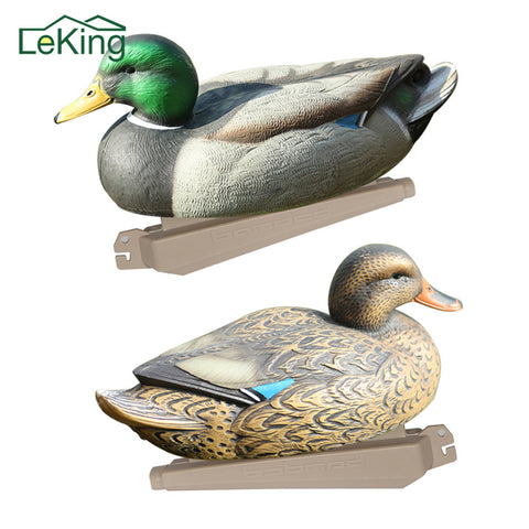 Lifelike Plastic Duck Pond Decoration