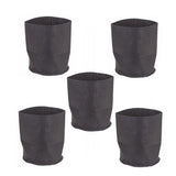 Non-woven Garden Planting Grow Bags Breathable Fabric (5 pcs)