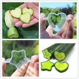 Plastic Fruits Star/Heart-shaped Mold