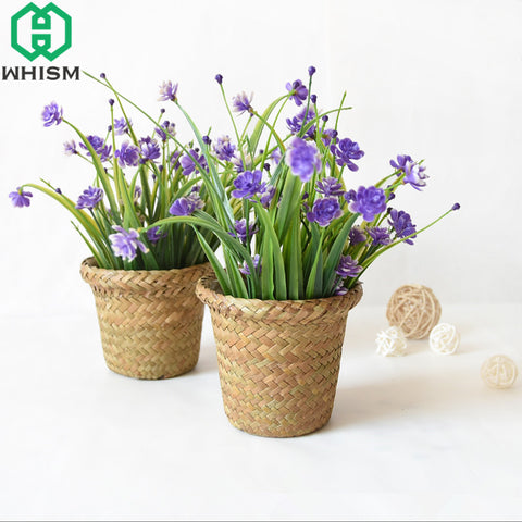 Sea Grass Potted Plant Container