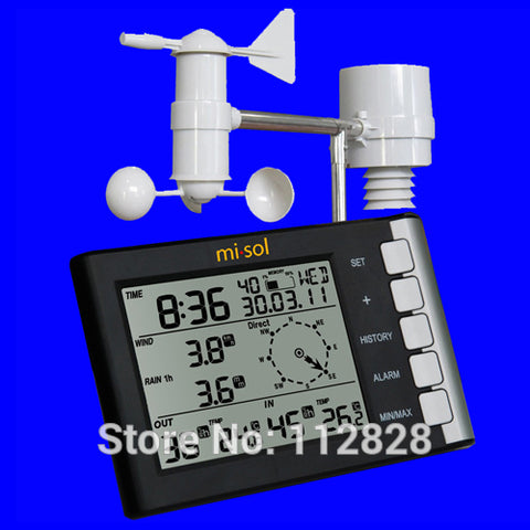 Professional Weather Station 433 Mhz