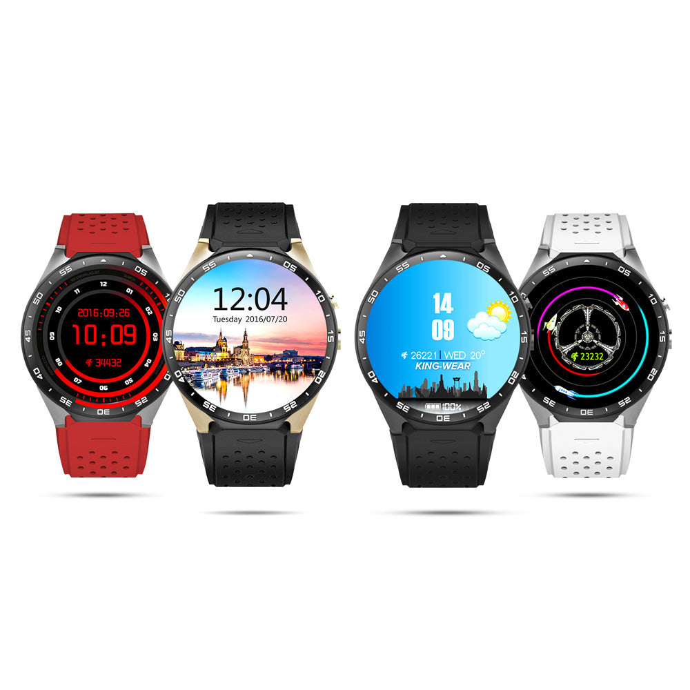 Kingwear KW88 Better than KW18 Smart Watch 3G 4GB ROM 512MB RAM WIFI 1 39