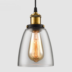 Loft Industrial Style Retro Pendant - Staunton and Henry
