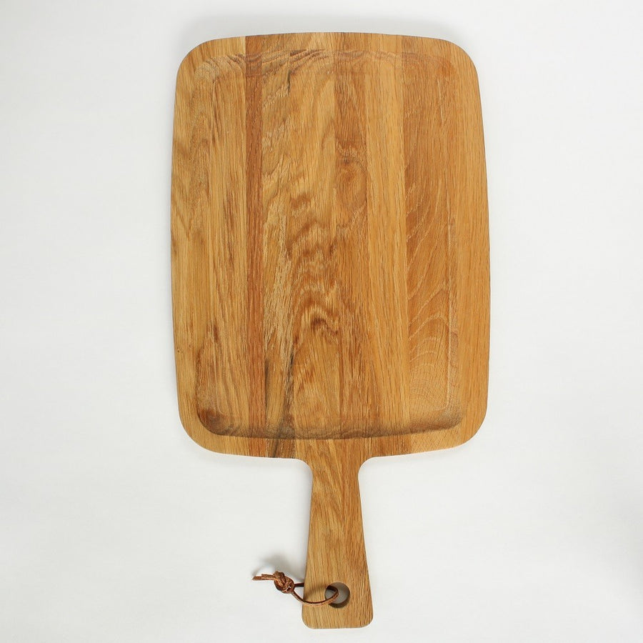 Handmade Oak Wood Serving Platter - Wide - Staunton and Henry