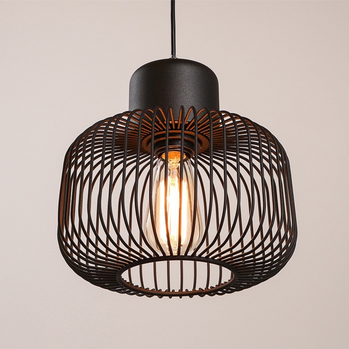 The Peak Of Très Chic Kitchen Light: Buy Modern Cage Pendant Lights At 20% Off