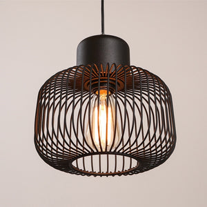 Modern Cage Pendant Light - Staunton and Henry