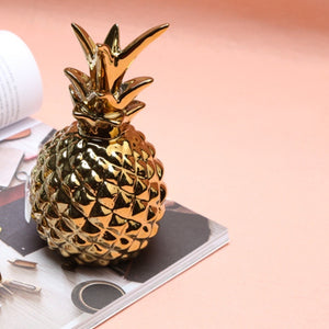 Gold Pineapple Ornament - Staunton and Henry