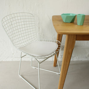 Harry Bertoia Style Side Chair - White