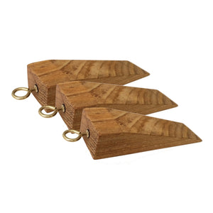 Solid Wood Door Stoppers