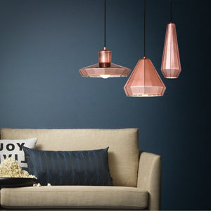 Ceramic Copper Pendant Light