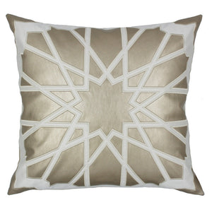 Cream and Gold Star Cushion Cover - Staunton and Henry
