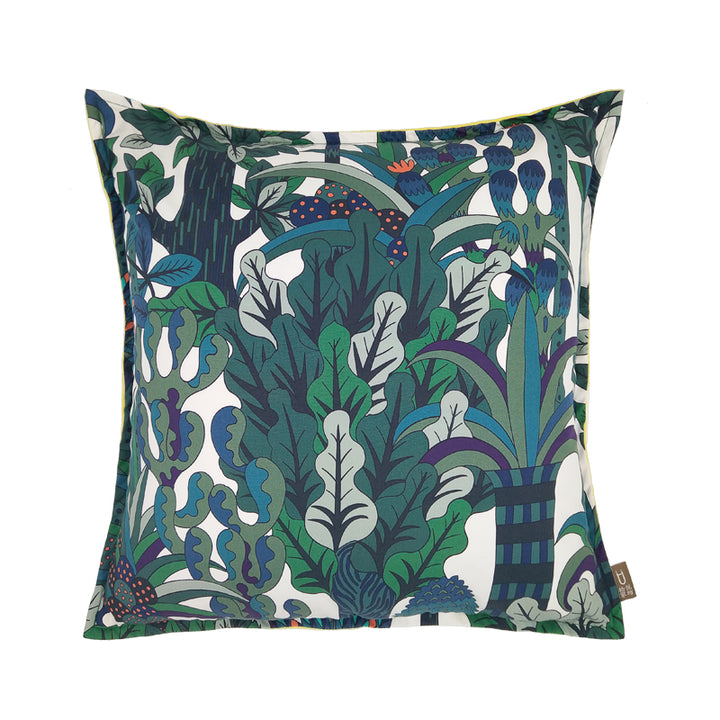 Emerald Forest Throw Cushion - Staunton and Henry