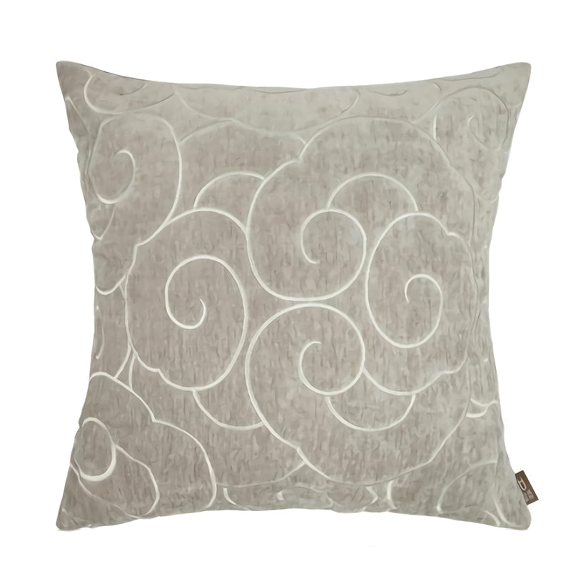 Beige Japanese Cloud Throw Cushion - Staunton and Henry