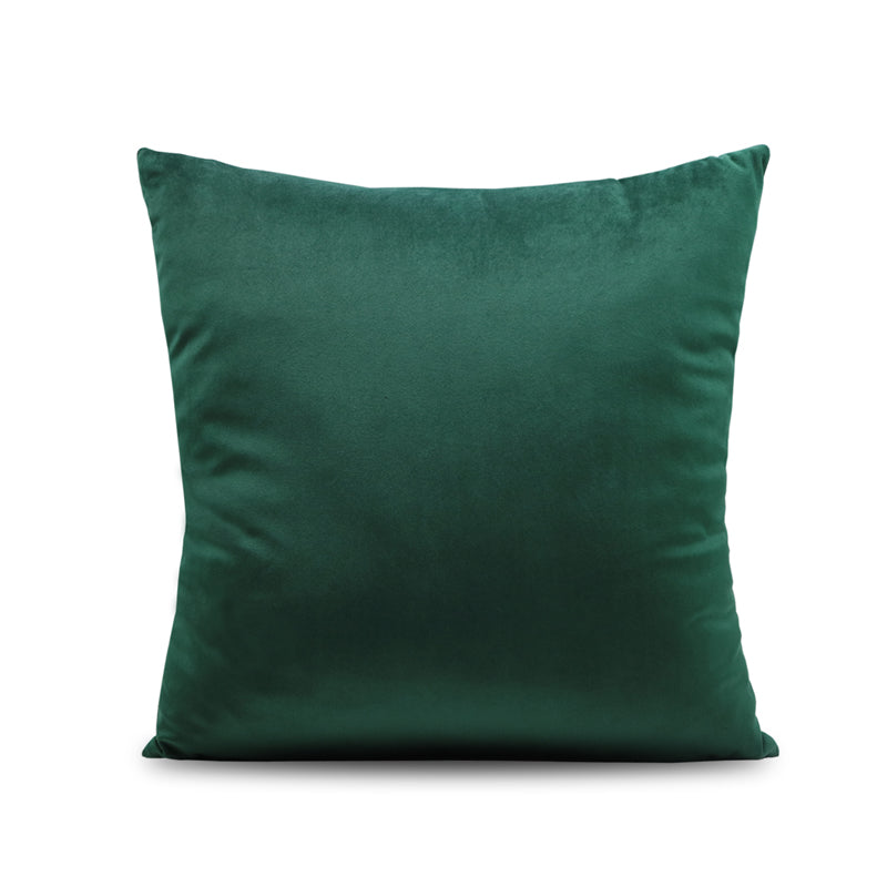 Emerald Green Geometric Throw Cushion - Staunton and Henry