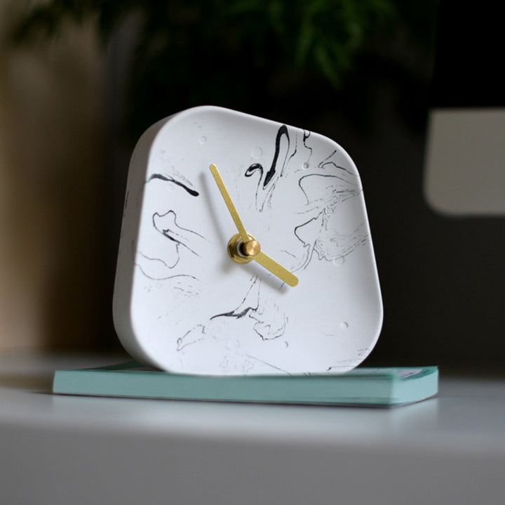 Asymetrical Modern Table Clock - Staunton and Henry