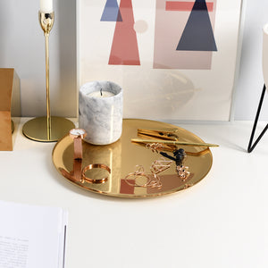 Decorative Gold Tray - Staunton and Henry
