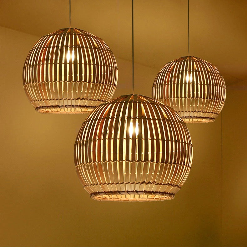 Buy Round Japanese Bamboo Ceiling Light Staunton And Henry