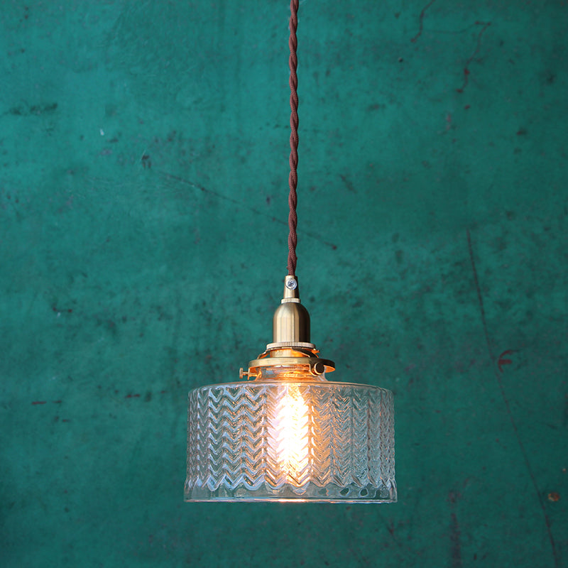 Vintage Style Deco Pendant Light - Staunton and Henry