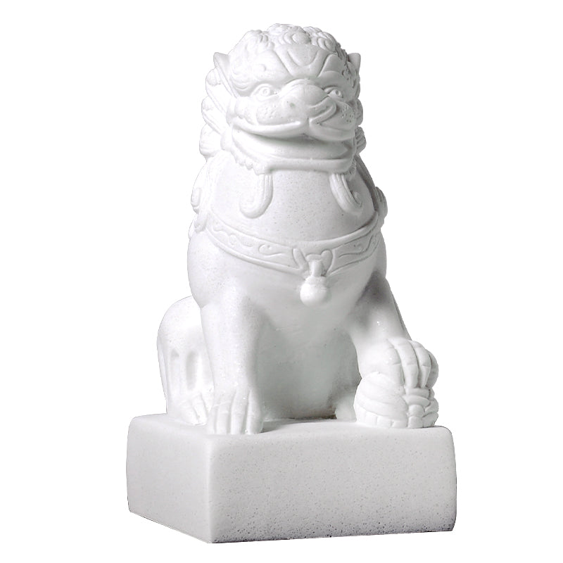 White Foo Dogs - Set of 2 - Staunton and Henry