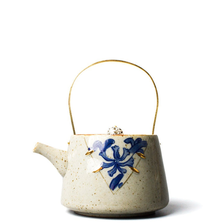 Japanese Faux Kintsugi Tea Pot - Staunton and Henry
