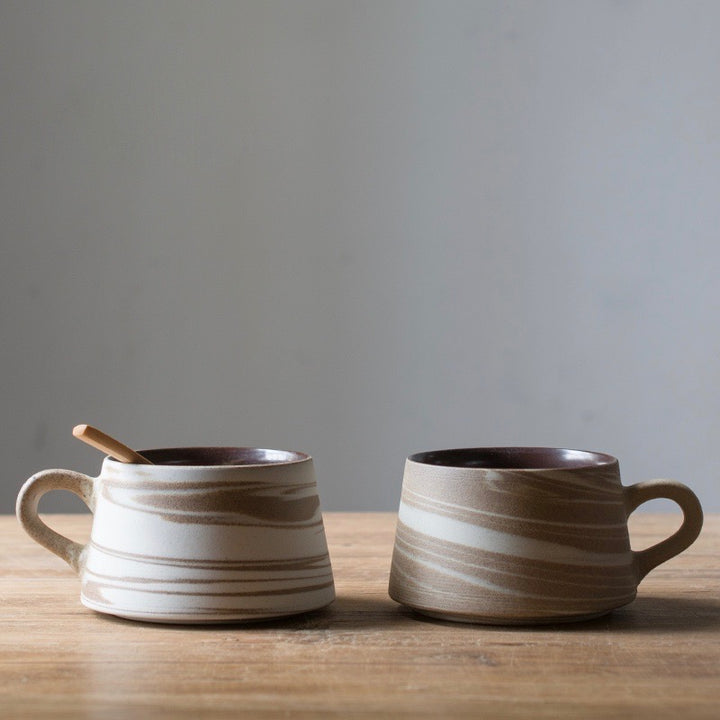Kansai Modern Earthenware Coffee Mug - Staunton and Henry