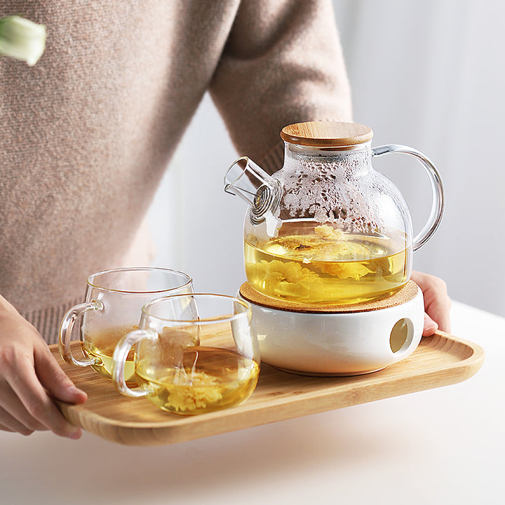 Kansai Modern Japanese Glass Tea Set - Staunton and Henry