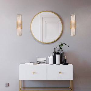Modern Marble and Gold Wall Light - Staunton and Henry