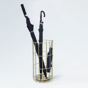 Classic Round Cage Umbrella Stand - Staunton and Henry