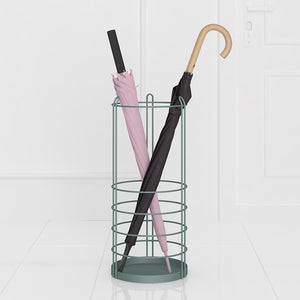 Modern Round Cage Umbrella Stand - Staunton and Henry