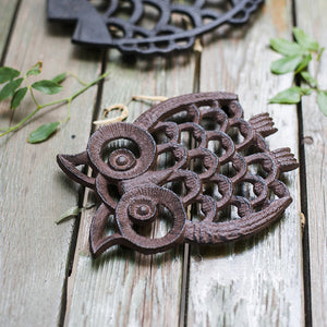 Cute Animal Cast Iron Trivet - Staunton and Henry