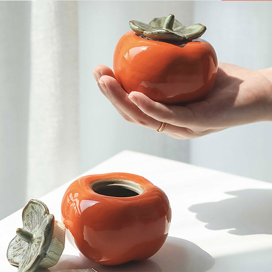 Persimmon Condiment Jars - Set of 2 - Staunton and Henry