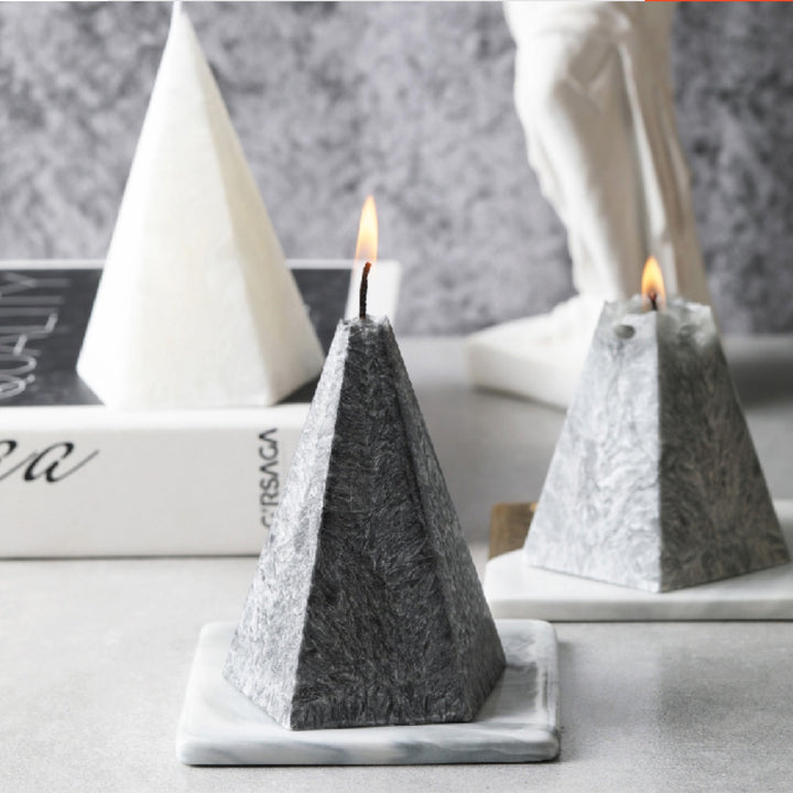 Faux Marble Candle - Staunton and Henry