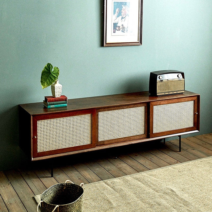 Mid Centry Modern Wood TV Cabinet - Staunton and Henry