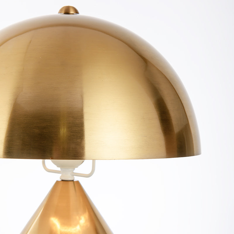 Retro Gold Table Lamp - Staunton and Henry