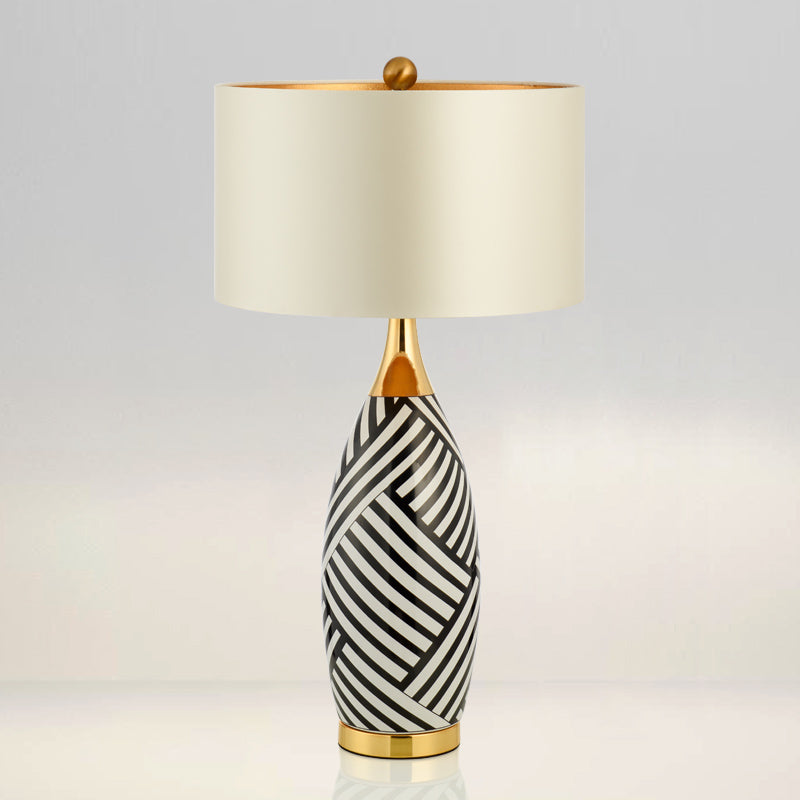 Buy elegant black and white ceramic table lamp staunton and henry elegant black and white ceramic table lamp mozeypictures Images