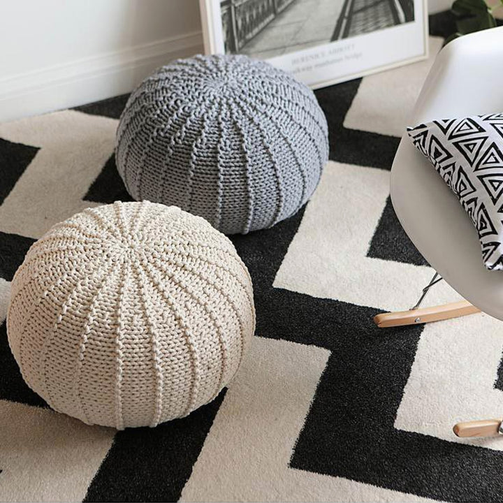 Knit Pouf - Staunton and Henry