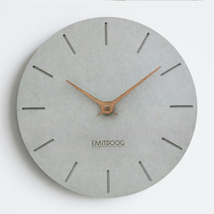 Grey Nordic Wall Clock - Staunton and Henry