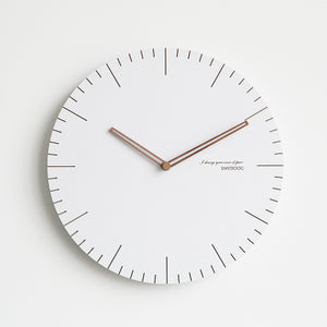 White Nordic Wall Clock - Staunton and Henry
