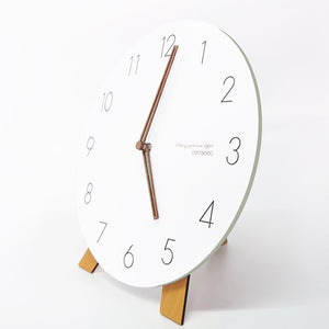 White Nordic Wall Clock