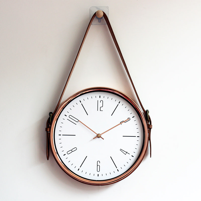 Copper Hanging Wall Clock - Staunton and Henry