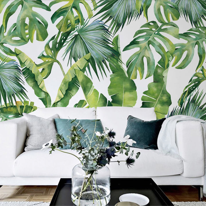Jungle Palm Leaves Wallpaper - Staunton and Henry