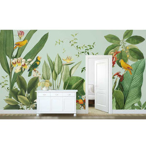 Birds of Paradise Tropical Wall Mural