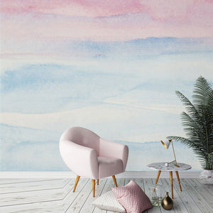 Pastel Sunrise Wall Mural