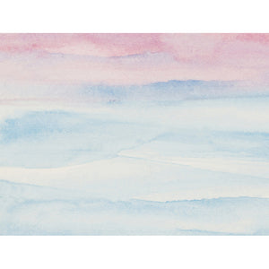 Pastel Sunrise Wall Mural - Staunton and Henry