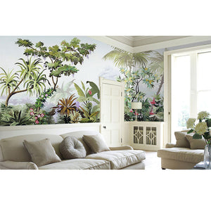 Tropical Island Forrest Wall Mural