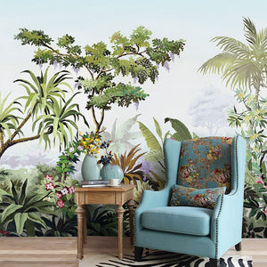 Tropical Island Forrest Wall Mural - Staunton and Henry