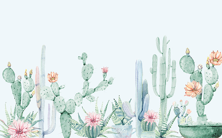 Collection of Cactus Wall Mural - Staunton and Henry
