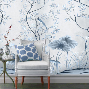 buy wall mural wallpaper at 25% off retail \u2013 staunton and henryblue oriental wall mural