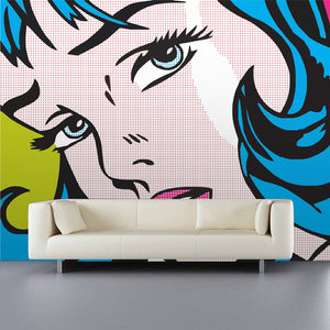 Retro Comic Wall Mural